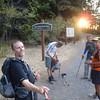 back at the trailhead 7:20am <FONT SIZE=1>© Mark Scott</FONT>