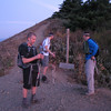 Puppy Dog View Point 6:15am.<br /> Mark, Eric, Adam.