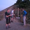 Puppy Dog View Point 6:15am.<br /> Mark, Eric, Adam.
