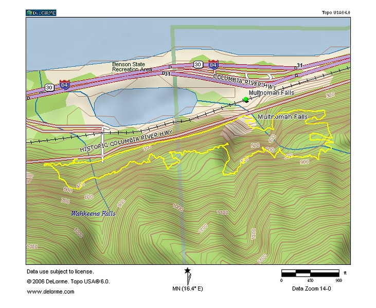 Eric's GPS Map