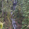 One of the first Seasonal Falls on the West side Eagle Creek.