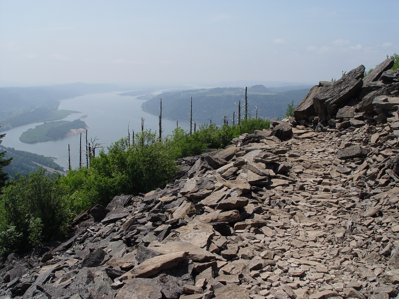 Since I was already on the trail I headed on up to Angels Rest