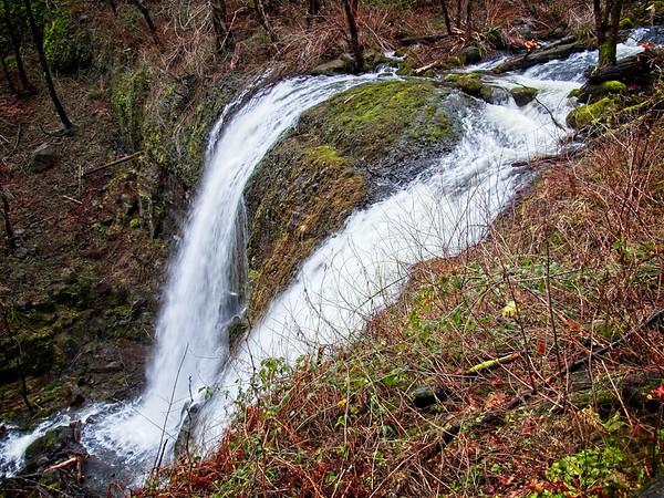 Elowah and Upper McCord Creek Falls
