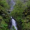 Waespe Falls has a short lower & much taller upper tier.