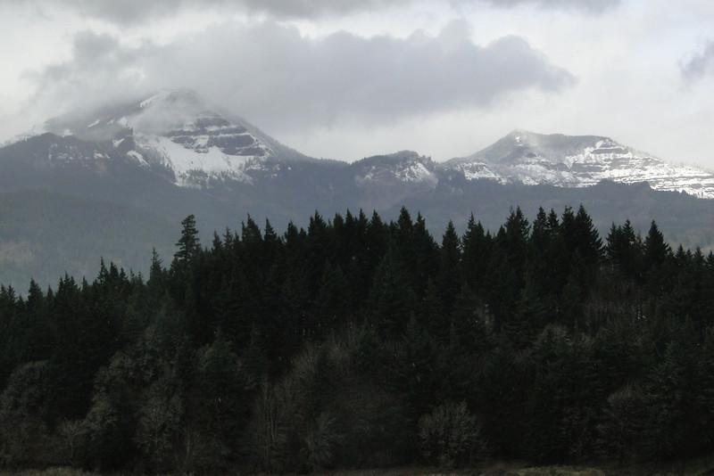 Table Mountain & Greenleaf Peak.