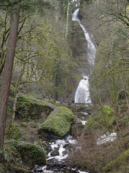 Setting out from Wahkeena Falls