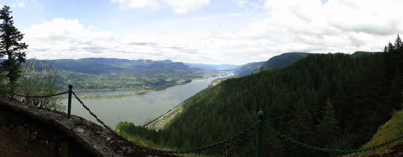 View from the Bickel Overlook