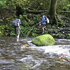 Due to the amount of water flowing over the falls we thought fording McCord Creek might be tricky but luckily just past the Falls there was a wide shallow area that made for an easy if cold crossing!