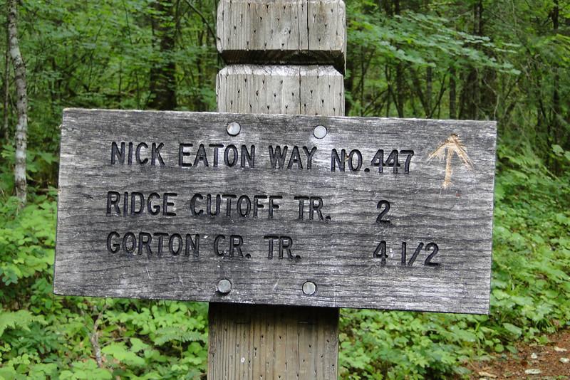 Nick Eaton (#447) Herman Creek (#406) Junction