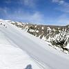 Heading up Clark Creek Ridge.