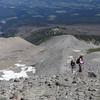Chiyoko & Kazuko<br /> Cooper Spur - Ridge Route.