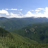 The open ridge line just below the Devils Peak Summit.