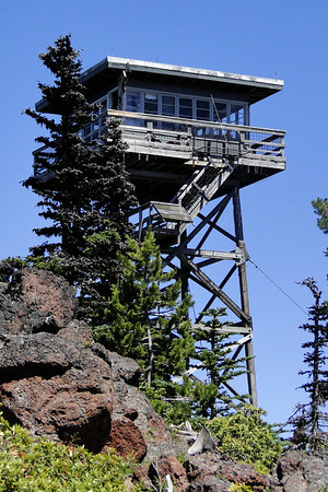 The Flag Point Lookout Tower.