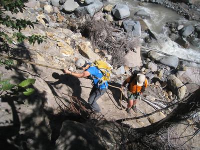 Newton Creek Timberline Trail Crossing. © Chiyoko Meacham
