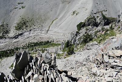 Top of the Gnarl Ridge