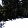 Heading up Gnarl Ridge.