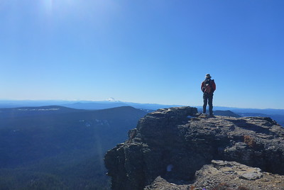 Lookout Mountain & Gumjuwac Saddle - 2015/02/22