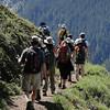 Heading around Bald Mountain