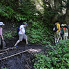 <I>A muddy</I> Muddy Fork Trail!