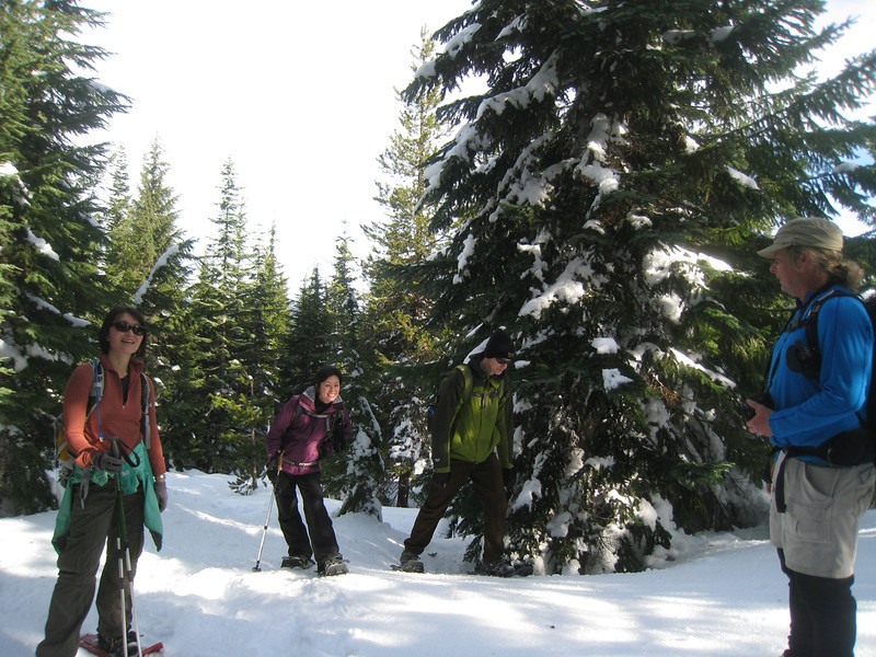 Heading up to Tri County Ridge (also known as Ghost Ridge.) <FONT SIZE=1>© Chiyoko Meacham</FONT>