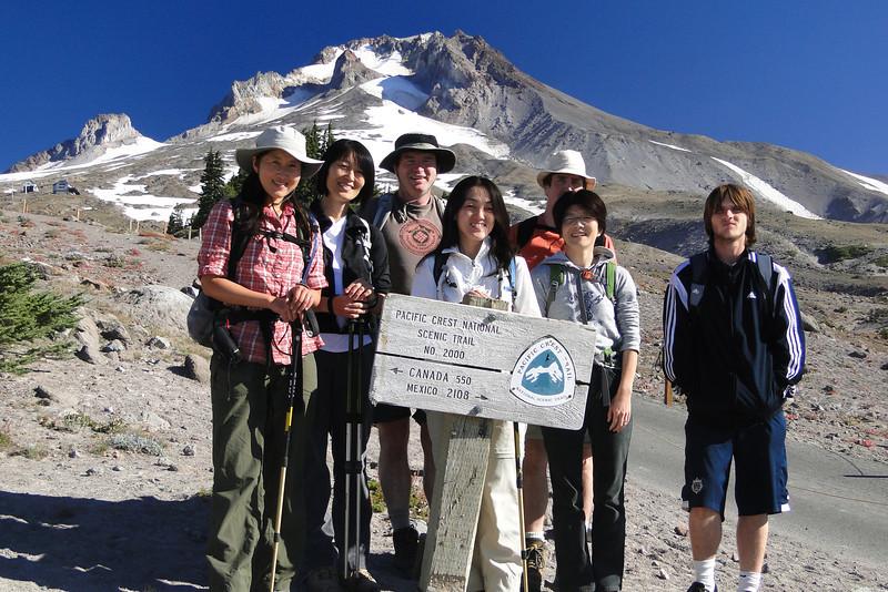 Chiyoko, Chizuru, Pascal, Kazuko, Greg, Keiko, Dominic.