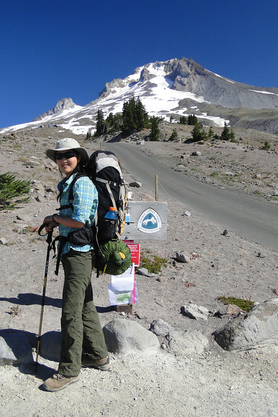 Setting Off from Timberline