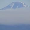 Mt. Adams shrouded in fire smoke.