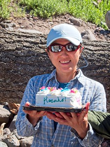 Three Birthdays at the Muddy Fork