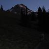 Approaching Mt. Hood Meadows.