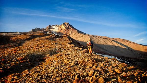 Timberline - East side climbers trail.  © Chiyoko Meacham