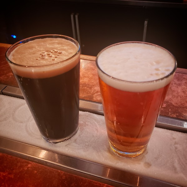 2019/09/25: Post Hike refreshment at the Mt Hood Brewery!