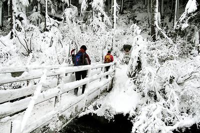 Mirror Lake Trail Head.