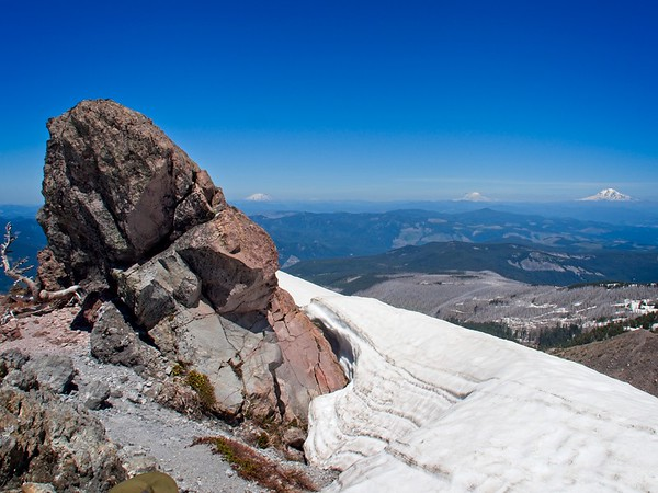 Top Spur to Ho Rock