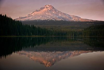 Mt Hood from Trillium Lake