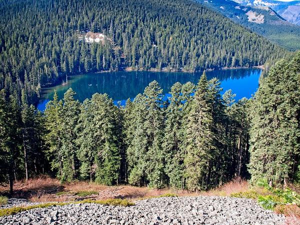 A loop around Wahtum Lake & Chinidere Mt.