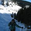 Beginning the steep bit up to Timberline Lodge. <FONT SIZE=1>© Chiyoko Meacham</FONT>