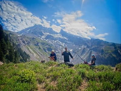 Yocum Ridge & back © Chiyoko Meacham