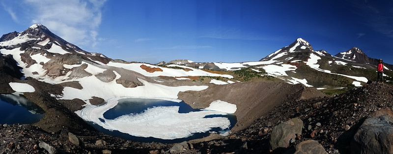 A loop around the South Sister - 2014/08/08