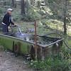 Restocking the water supply!
