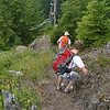 Heading down from Elk Mountain on the way to Kings Mountain.