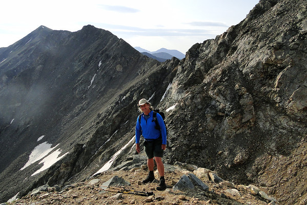 Grays Peak Trail. About 13,800'