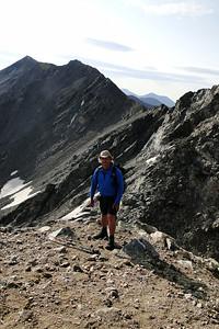 Grays Peak Trail. About 13,800'