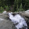 Parker Creek at Hoffer Lakes.