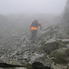 Final climb to the Summit.