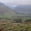 Looking back down towards Glenridding