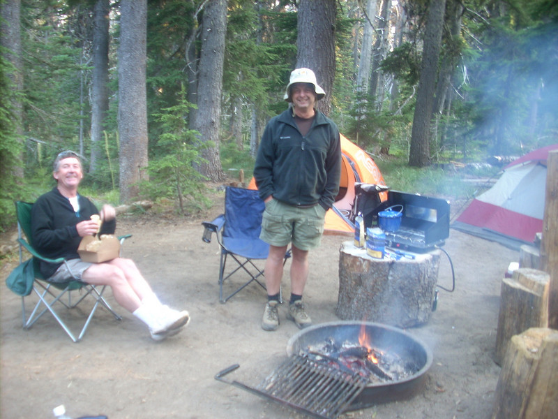Cold Springs Base Camp +/- 5700'. <FONT SIZE=1>© Tim Freeman</FONT>