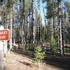 Mt. Bailey Lower Trailhead. <FONT SIZE=1>© Chiyoko Meacham</FONT>