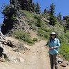 Garfield Peak Trail.