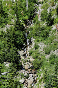 Falls on the way to Panhandle Lake.