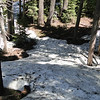 Rodley Butte Trail.<br /> We hit snow patches at about 5,500'.